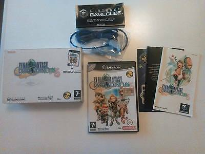 FINAL FANTASY CRYSTAL CHRONICLES EDIZIONE SPECIALE+ gba cable gamecube pal