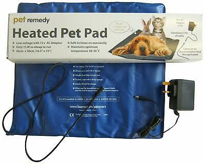 Pet Electric Heat Pad - Warm Dog Cat Puppy Bed Recovery Low Voltage Temperature