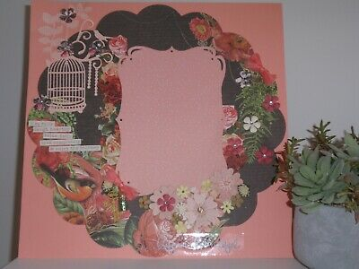 Handmade Scrapbook page - This Life is Beautiful