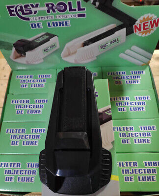Easy Roll De Luxe Cigarette Injector machine for REGULAR Size 8mm Filter Tubes