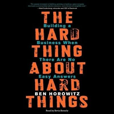 The Hard Thing About Hard Things By Ben Horowitz (audio book, Download)