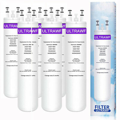 6 Pack Fit Frigidaire Ultra ULTRAWF PureSource 241791601 Refrigerator Filter