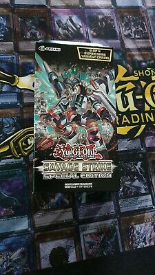 YU-GI-OH! Savage Strike Special Edition YuGiOh TCG Sealed SAST Cards