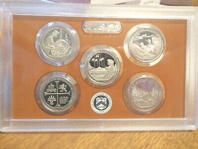 2019 S Clad Proof America The Beautiful Quarter Set  No Box or Coa  IN STOCK