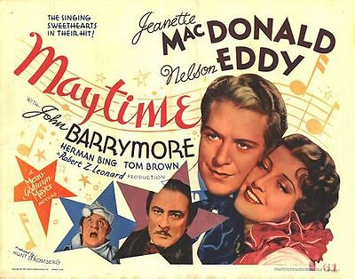 Maytime - 1937 - Nelson Eddy Jeanette MacDonald b/w 1937 Musical Film DVD