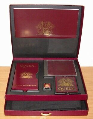 box cd Vhs Book T-shirt Poster Badge  Queen – Box Of Tricks uk 1992 Limited
