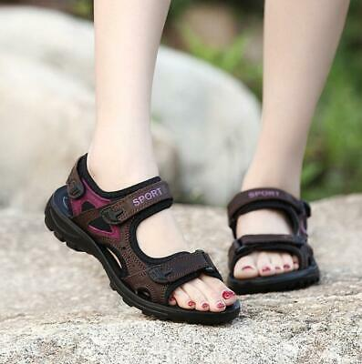 Womens Ladies Hiking Walking Sports Open Toe Sandals Summer Beach Outdoor Shoes