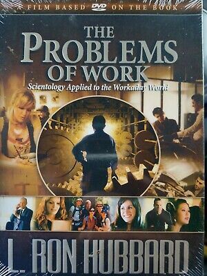 The Problem With Work L. Ron Hubbard FACTORY SEALED New DVD FREE Shipping