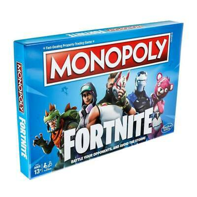 Fortnite Monopoly Limited Edition Fort Nite Video Board Game Hasbro New