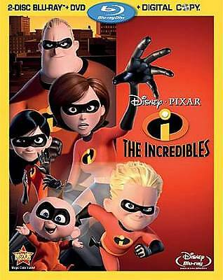 The Incredibles (Blu-ray/DVD, 2011, 4-Disc Set, Includes Digital Copy)