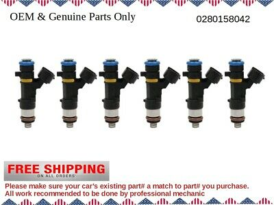 0280158042 16600CD700 New Fuel Injector For Nissan Infiniti M35 G35FX35  V6 3.5