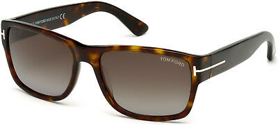 cc0c92bbb9 TOM FORD SUNGLASSES 0445 Mason 52B Dark Havana Smoke Grey Gradient ...