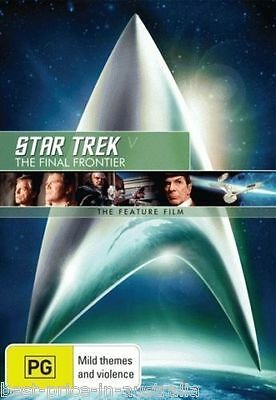 STAR TREK V (5) - The Final Frontier DVD The Feature Film BRAND NEW SEALED R4