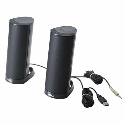***NEW Factory Sealed*** Dell Computer Speakers AX210 USB Stereo Speaker System