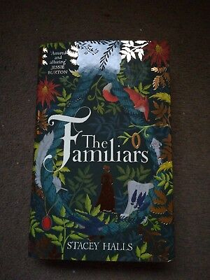 The Familiars by Stacey Halls SIGNED LTD EDITION BLUE SPRAYED EDGES 1/1