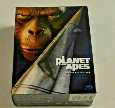 Planet of the Apes 5-Film Collection Blu-Ray!!!