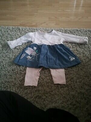 One-pieces Girls' Clothing (newborn-5t) Baby Girls Next Outfit Age 6-9 Months
