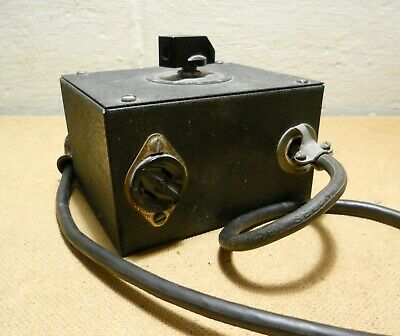Vintage Superior Electric Powerstat Type 108 Variable Transformer