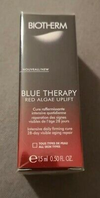 BiothermBlue Therapy Red Algae Uplift Intensive Daily Firming Cure 15ml Serum