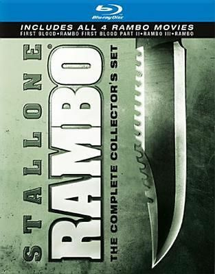 New! Rambo The Complete Collector's Set 4 Film Blu-Ray - Sylvester Stallone
