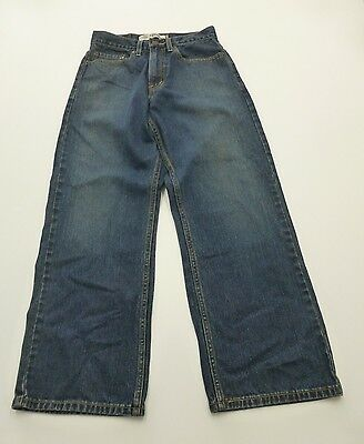 Levis 569 Jeans Boys Size 14 Loose Straight Blue Jeans Great Condition