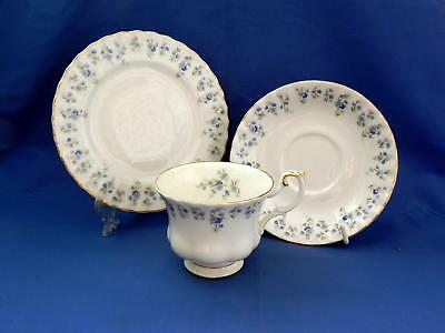Royal Albert **MEMORY LANE** TRIO  - Cup / Saucer / Side Plate - Excellent