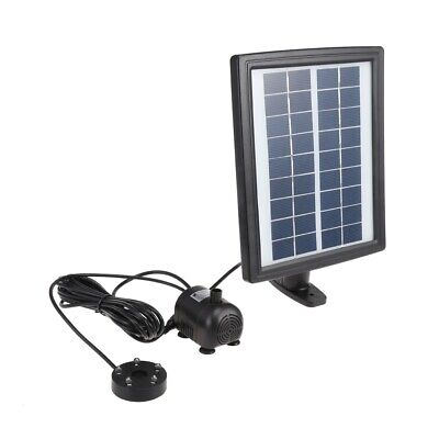 LED Solar Fountain Water Pump Kit with Battery