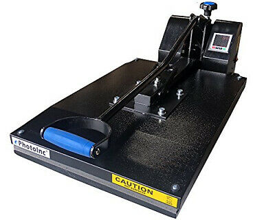 "ePhotoInc 20 x 16"" Digital Heat Press Machine Transfer T-Shirt Clamshell Press E"