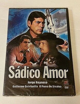 Sadico Amor DVD FACTORY SEALED BRAND NEW! FREE SHIPPING AND TRACKING! GREAT GIFT