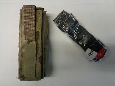 NEW Sekri Military Tourniquet Pouch Multicam W/ NAR Red Tip Tourniquet