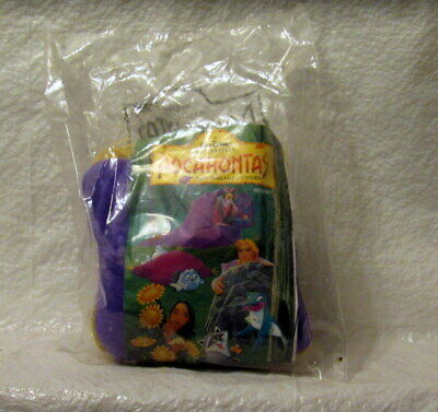 Percy the Dog Finger Puppet 1996 Pocahontas Burger King Toy