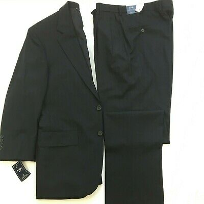 NWT Brooks Brothers Mens Brookease Suit Wool 2 Btn Notch Lapel Sze 38S Pinstripe