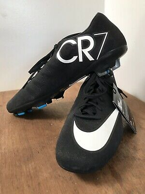 official photos a862f 2b274 MENS SIZE 10 NIKE MERCURIAL VAPOR X CR7 Glimmer Soccer Boots Sparkle Cleats