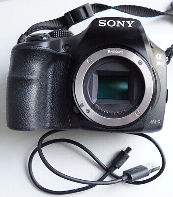 Sony a3000 20.1MP 1080P Mirrorless Body Only Camera Good condition Ship Fast