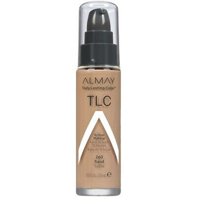 Almay tlc Truly Lasting Color 16 Hour Makeup - 260 Sand