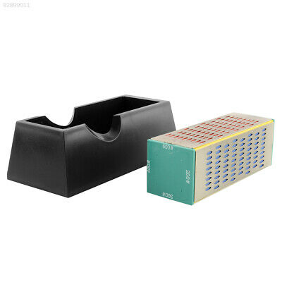 25A3 Knives Sharpener Diamond Sharpener Stone 4 4-Sides Whetstone