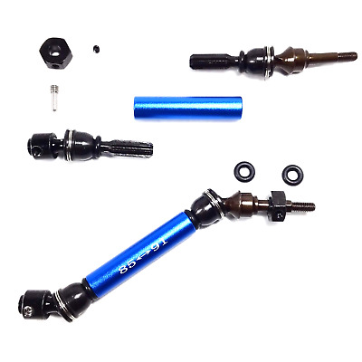 GPM Front Axle Set for Traxxas Rustler Slash Stampede Ultimate 4X4 USA SELLER