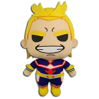 "My Hero Academia All Might 8"" Plush Toy Official Licensed GE Animation Legit"
