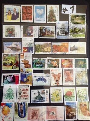 Over 90 All Different RECENT AUSTRALIAN stamps Used #7