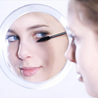 10X Magnify 15cm Magnifying Round Mirror Bathroom Makeup Tool Cosmetic Suction