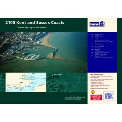 PACK CARTES MARINE IMRAY 2100 KENT AND SUSSEX COASTS alciumpeche
