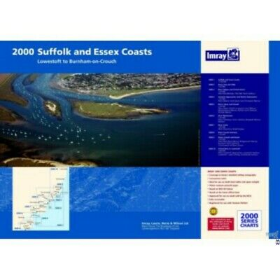 PACK CARTES MARINE  IMRAY 2000 SUFFOLK AND ESSEX COASTS alciumpeche