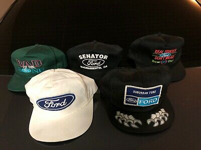 Vintage Ford Hat K Brand, Youngan, Horizon Wrenches