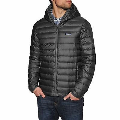 1d7648fc039 Patagonia Sweater Hooded Homme Veste Doudoune - Forge Grey Toutes Tailles
