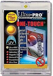 (1) Ultra-Pro One-Touch 130pt Magnetic Card Holder