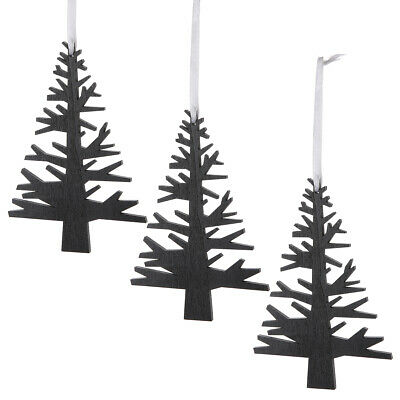 Lot 10pcs Décor de sapin de Noël Ornement Bois Suspendu Motif de Gui
