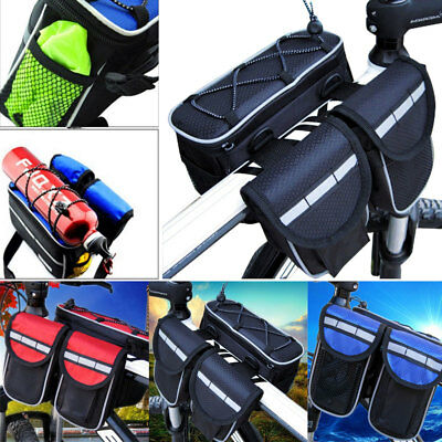Cycling Front Bag MTB Bike Accessories 4In 1 Multifunction Bycicle Handlebar Bag