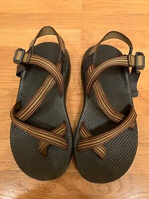 55dad4608d1f CHACO MEN S SIZE 10 Brown Tan Strap Vibram Z1 Sandals-Ships FAST ...