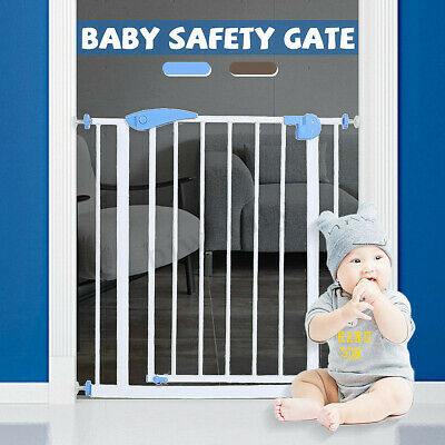 76CM Tall Adjustable Wide Baby Child Pet Safety Security Gate Stair Barrier Door