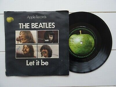 The beatles Let it be / You know my name UK Apple 45